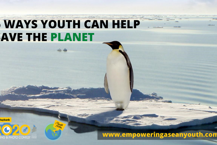 6 Ways Youth Can Help Save the Planet