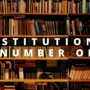And the winners are… Institution: Highest Entries